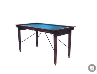 【BRASS PARK 銅公園】 歐洲古董檯球展示桌   古董/老件/vintage/retro/Pool Table