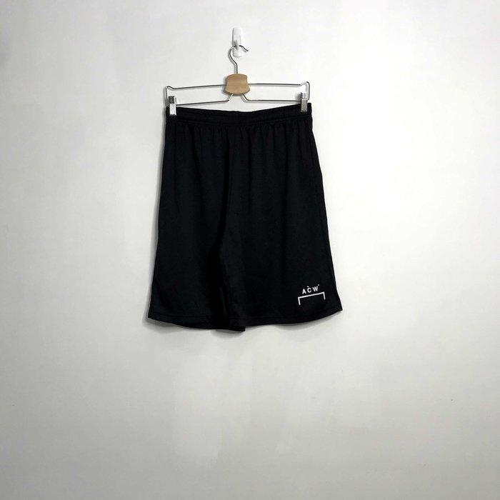(Used) A Cold Wall Black Logo Shorts 黑色 短褲 休閒褲 現貨