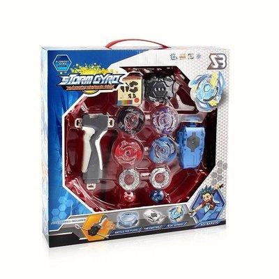 萬象宙斯戰鬥陀螺之爆裂對戰-天翼戰神多人對戰陀螺4合一套裝組 (大盒裝) 4入禮盒對戰精裝組 ↘$350元 可以全家超取