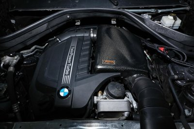 CS車宮車業 ARMA 碳纖維 集氣罩 進氣系統 BMW F10 535i 10-11