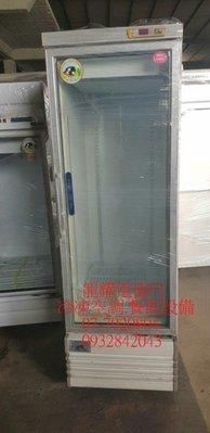 高雄 二手單門500L玻璃展示櫃冰箱 只賣8500