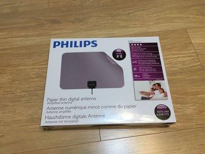 Philips 高清 數碼 電視天線 內置放大器 HDTV 村屋適用