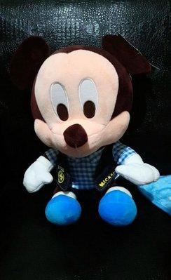特賣/正版迪士尼…全新米奇絨毛娃娃高35cm/有雷標與掛牌現貨。