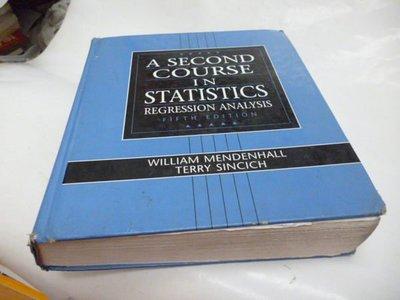 買滿500免運&--《A second course in statistics : regression analysis》ISBN:0133968219