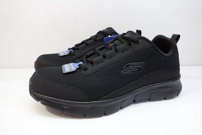 =小綿羊= SKECHERS SYNERGY 3.0 黑 52585BBK 男生 慢跑鞋 健走鞋 可當皮鞋 輕量舒適