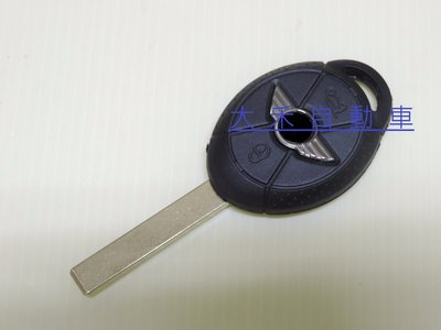 大禾自動車 BMW MINI COOPER 晶片鑰匙 遙控外殼