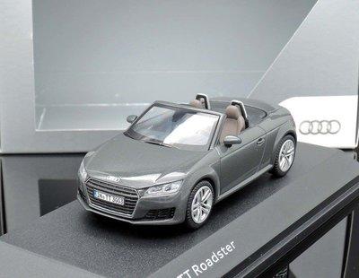 【MASH】[現貨瘋狂價] 原廠 Kyosho 1/43 Audi TT Roadster grey