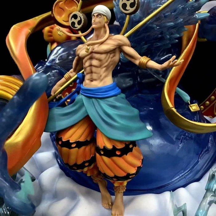海賊王 黑珍珠 GK 巨無霸 艾尼路 雷神 可發光 雕像 模型盒裝手辦 產品高度:約48cm