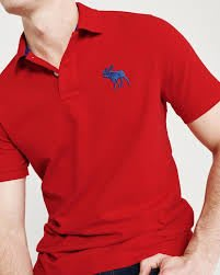 Abercrombie&Fitch EXPLODED ICON STRETCH POLO衫
