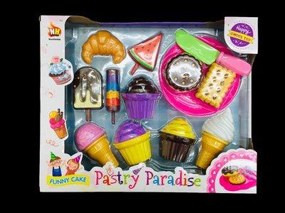 【阿LIN】902544 583A益智玩具 扮家家酒 蛋糕 餅乾 冰淇淋 兒童玩具 美味甜點
