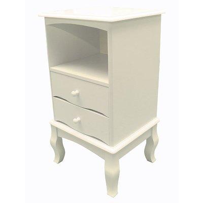 【尚品傢俱-崇德店】K-877-02 柏林 白色二抽櫃/雙屜櫃/收納櫥櫃/儲物櫃/Two Drawer Cabinet
