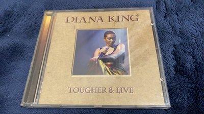 【回憶無價】Diana King  - tougher & Live  CD   唱片
