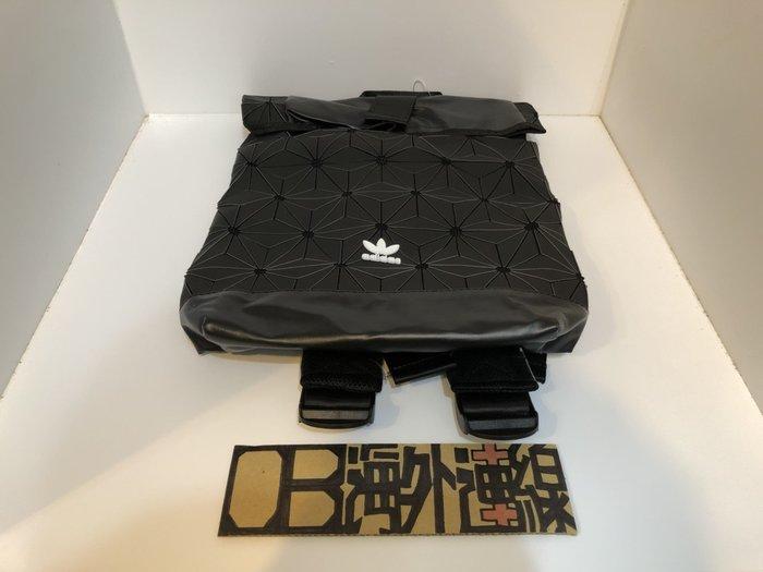 【OB海外連線】Adidas Urban Backpack 3D 立體 三宅一生 黑色 菱格 後背包 AY9354 男女