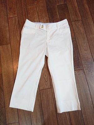 clear impression 白色7分褲