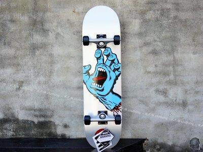【 K.F.M 】Santa Cruz SCREAMING HAND 8.25 整組 技術板 滑板 吶喊手 美國進口滑板