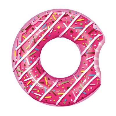 [休閒時尚] Bestway 草莓甜甜圈泳圈 42吋 建議12歲以上