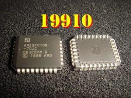 【全冠】AMD AM29F010B-70JC◇PLCC-32 NOR Flash快閃記憶體, 128K x 8