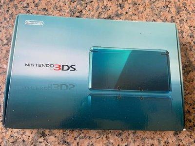 --二手良品--稀有少見盒裝極新螢幕無刮 任天堂 Nintendo 3DS+原廠全配件(如照片)..值得珍藏