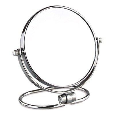 現貨/歐式鏡子臺式8英寸超清化妝鏡梳妝鏡雙面鏡子公主鏡放大鏡可掛墻160SP5RL/ 最低促銷價