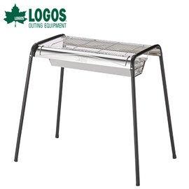 丹大戶外【LOGOS】日本 ROSY 2WAY BBQ烤爐 L號 81601410