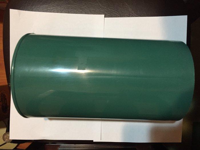 排油煙機用PVC塑膠直管 (綠色) 孔徑約15cm、長:27.7cm