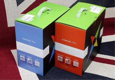 mtv9600 magic tv 4k you tube android tv box 1tb雙系統 雙tuner 行貨1年保用