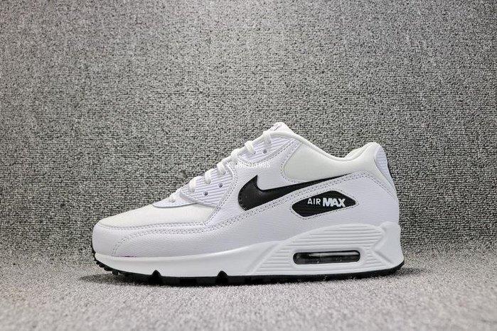NIKE AIR MAX 90 ESSENTIAL 白黑 經典 氣墊 休閒慢跑鞋 男女鞋 325213-131