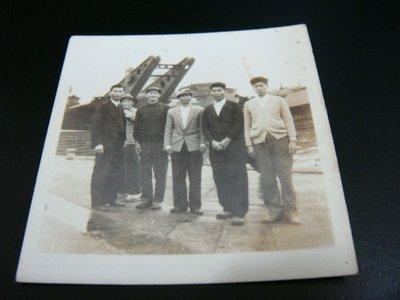 早期~老照片~(老船)6X6公分