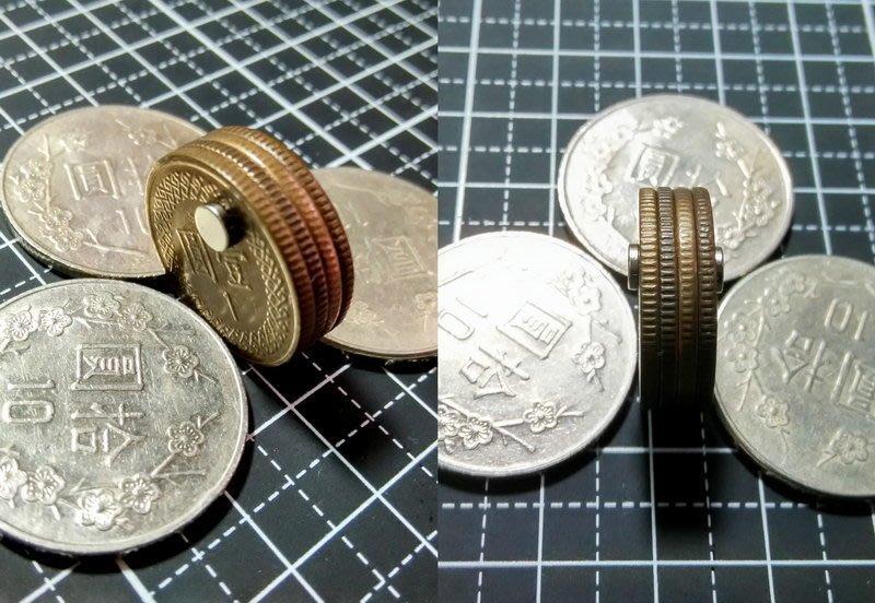 @萬磁王@4mmx1mm-釹鐵硼強力磁鐵-薄片磁鐵