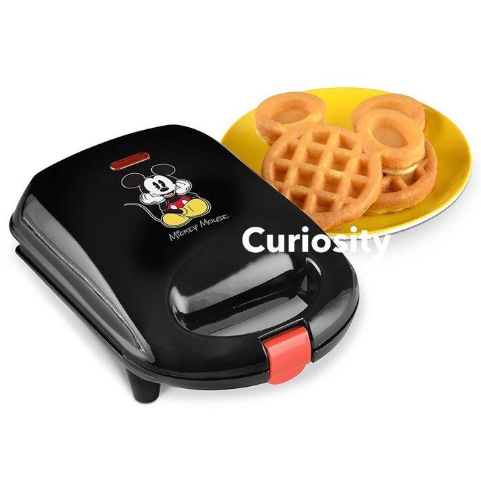 【Curiosity】現貨!美國DISNEY迪士尼米奇大頭造型迷你鬆餅機$1800↘$1199免運 適合小朋友食用的尺寸