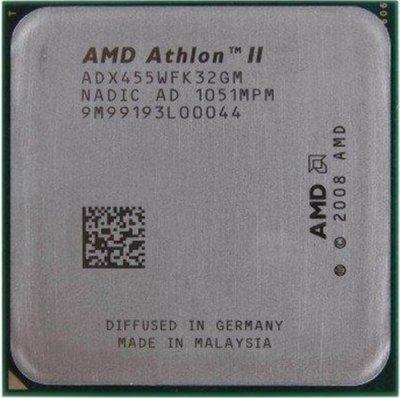 AMD AthlonII  3.3G  3核心,可超頻3.9GHZ(237x16.5)。