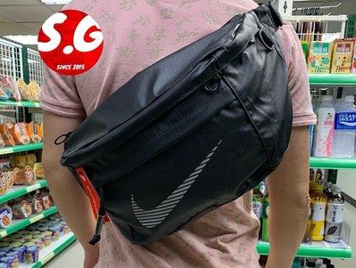 S.G NIKE TECH HIP PACK 大腰包 斜肩包 腰包 防潑水 大容量 黑 DB4697-010