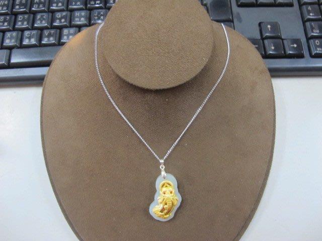 二手舖 NO.3907 天然玉石 和田玉 玉墜 項鍊 豼貅雕件 首飾飾品