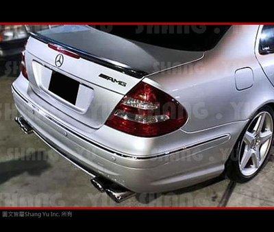 BENZ W211 AMG 後保桿 後大包 套件 E63 E55 E320 E280 E200 E350