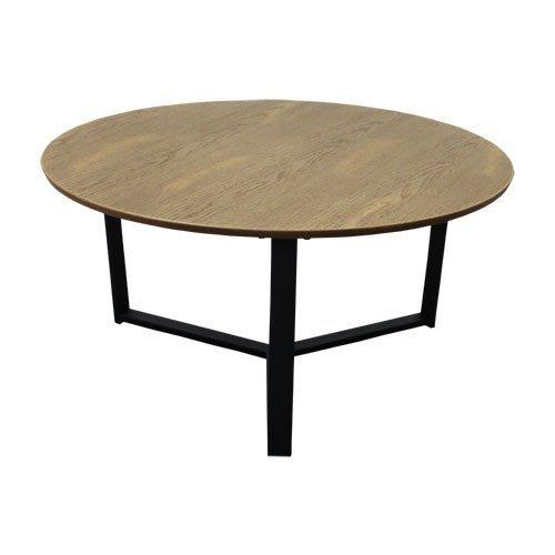 中華批發網:HD-X93-1032-DW-英式古典-麥爾斯圓咖啡桌-咖啡色