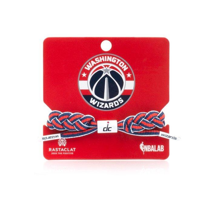 【Brand T】RASTACLAT NBA WASHINGTON WIZARDS 巫師*球隊*鞋帶*手環*雷獅特*衝浪