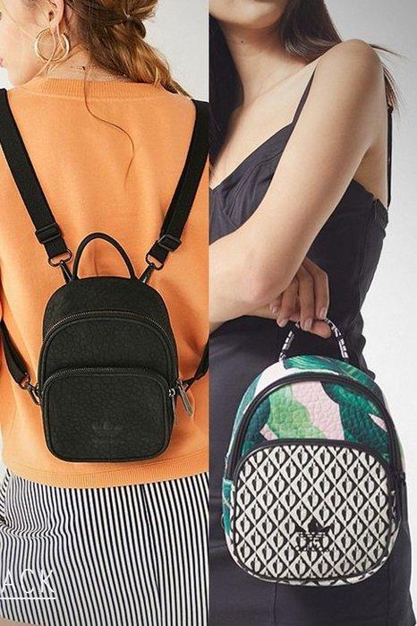 Adidas Mini款小背包 黑色迷你後背包 黑色小背包 愛迪達運動休閒小包 CE5629