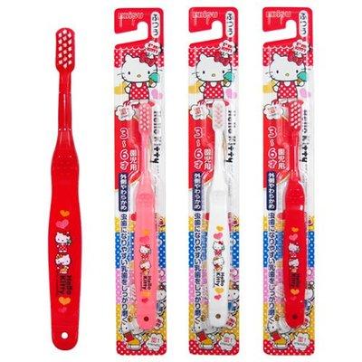 #悠西將# {現貨} 日本EBISU Hello Kitty 3~6歲兒童牙刷 KITTY牙刷 凱蒂貓 幼兒牙刷