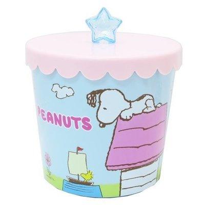 ♡fens house♡  snoopy 史努比 星星 桌上 置物盒 收納盒 收納罐