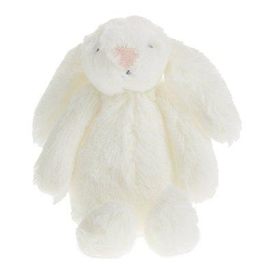 [要預購] 英國代購 英國 THE LITTLE WHITE COMPANY 粉紅鼻白兔玩偶 6cm