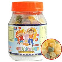 【seven健康小舖】【優而力 魚油軟糖(200g/罐)】純淨魚油+繽紛水果口味
