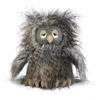 預購 英國 JELLYCAT Orlando Owl 觸感極佳 奧蘭多貓頭鷹 獨特療癒玩偶 絨毛玩偶 娃娃 生日禮
