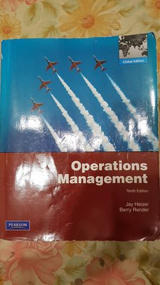 Operations Management Tenth Addition正版二手品