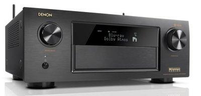【新莊力笙音響】DENON AVR-X4400H 高階 9.2 聲道AV環繞擴大機 3D音頻解碼 杜比Atmos DTS