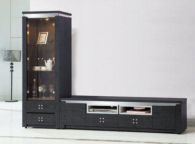 【南洋風休閒傢俱】精選時尚長櫃系列-櫥櫃 電視櫃 音響櫃 收納櫃 -潔妮絲7尺電視櫃 CY268-7