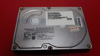 桌電 3.5吋 IDE 硬碟 Seagate 4.3G/ Quantum 9.1GB 20GB 40GB 宜蘭縣