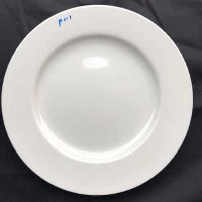 大同瓷器P111主餐盤.圓盤.瓷盤.平盤.27公分