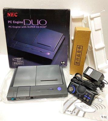 NEC PC Engine DUO with Super CD-Rom2 主機 PCE 二合一主機 日本製