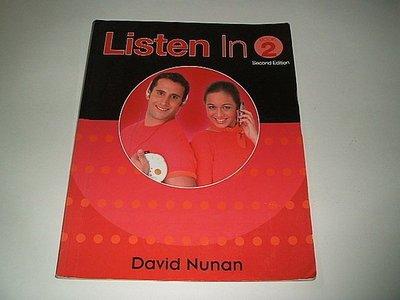 古集二手書 ~Listen In Book 2 (2e) David Nunan 9780838404348
