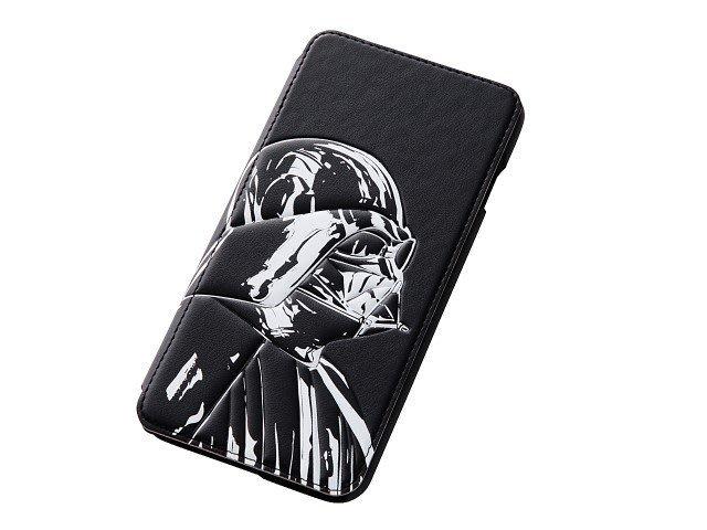 尼德斯Nydus 日本 星際大戰 STAR WARS 達斯維達 翻頁式 手機殼 iPhone 6/6S+ Plus